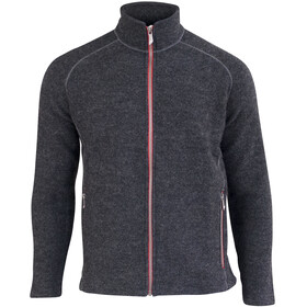 Ivanhoe of Sweden Danny Full Zip Jacke Herren graphite marl